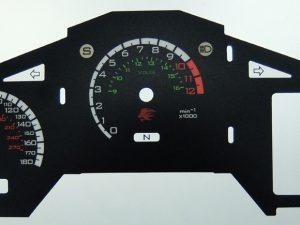 alfa romeo giulia quadrifoglio kmh to mph conversion dial for imported exported vehicle part no c1791 lockwood international lockwood international